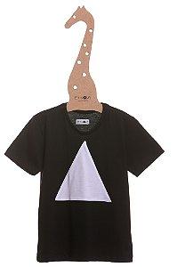 T-Shirt Theo, gola careca e manga curta