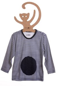 T-Shirt Lucas, gola careca e manga longa