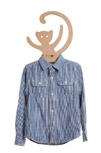 Camisa Pedro Listrada, manga longa