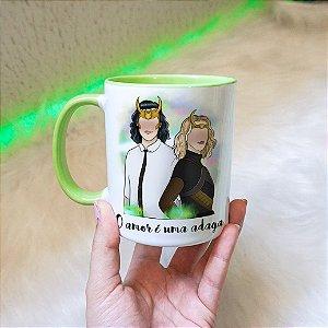Caneca Loki e Sylvie