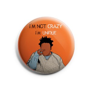 Botton Orange Is The New Black - Crazy Eyes