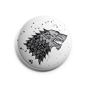 Botton Game of Thrones - Stark