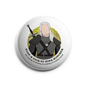 Botton The Witcher - Geralt
