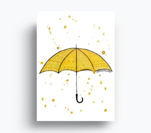 Quadro How I Met Your Mother - Guarda-Chuva Amarelo