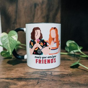 Caneca Stranger Things - Eleven e Max