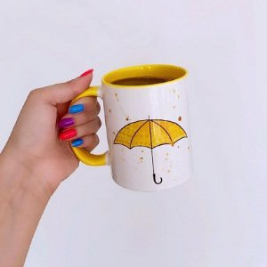 Caneca How I Met Your Mother - Guarda-Chuva Amarelo