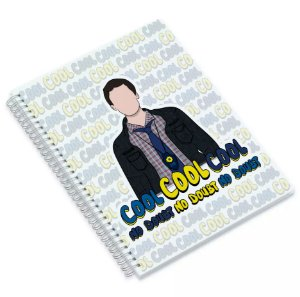 Caderno de Brooklyn 99 - Jake Peralta