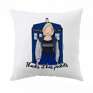 Almofada Doctor Who (13ª Doutora)