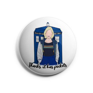 Botton Doctor Who (13ª Doutora)