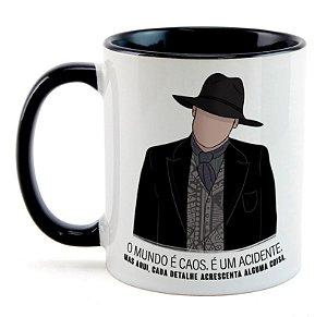 Caneca Homem de Preto - Westworld