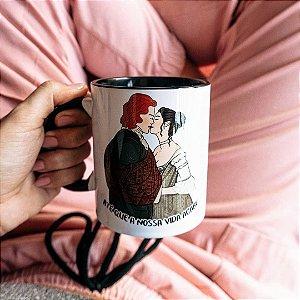 Caneca Casamento Jamie e Claire | Outlander