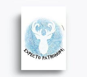 Quadro Expecto Patronum - Harry Potter