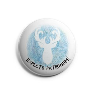 Botton Expecto Patronum - Harry Potter