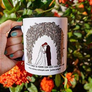 Caneca Crepúsculo Casamento - Amanhecer Parte 1