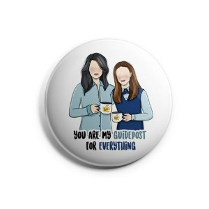 Botton Lorelai e Rory - Gilmore Girls
