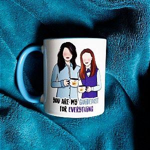 Caneca Lorelai e Rory - Gilmore Girls