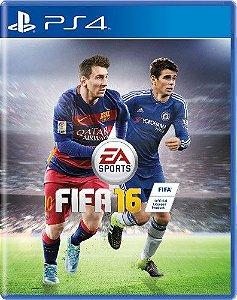 Jogo Fifa 16 - PS4 - Seminovo