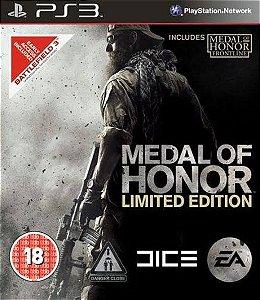 Jogo Medal of Honor - Edição Limitada - PS3 - Seminovo