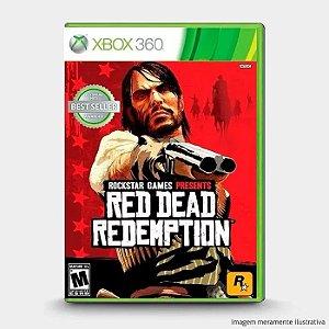Usado: Jogo Red Dead Redemption Xbox 360