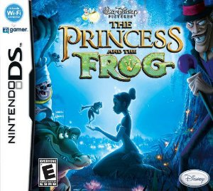 Jogo The Princess and The Frog - (sem estojo) Nintendo DS - Seminovo