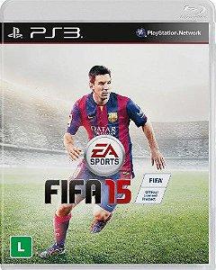 Jogo Fifa 15 - PS3 - Seminovo
