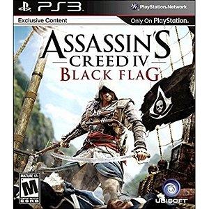 Jogo Assassins Creed IV Black Flag - Edição Especial - PS3 - Seminovo
