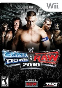 Jogo WWE Smackdown VS Raw 2010 - Wii - Seminovo