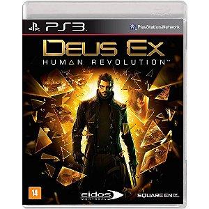 Jogo Deus Ex Human Revolution- PS3 - Novo