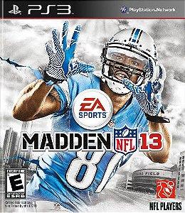 Jogo Madden NFL 13 Ps3 - Seminovo