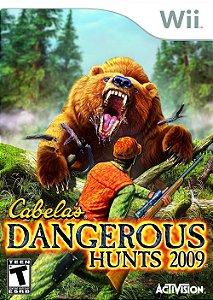 Jogo Cabela's Dangerous Hunts 2009 - Wii - Seminovo