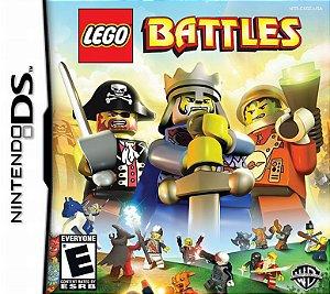 Jogo Lego Battles - Nintendo DS - Seminovo