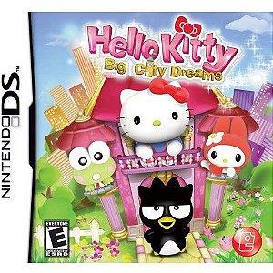 Jogo Hello Kitty Big City Dreams - (sem estojo) Nintendo DS - Seminovo