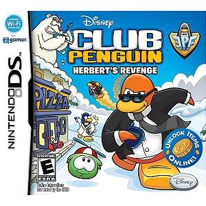 Jogo Club Penguin Herber's Revenge - Nintendo DS - Seminovo