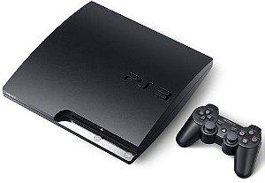 Console PS3 Slim 160Gb com 14 Jogos Digitais- Seminovo
