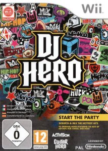 Jogo DJ Hero - Nintendo Wii (Sem Capa) - Seminovo