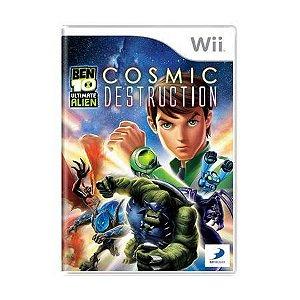 Jogo Ben 10 Ultimate Alien: Cosmic Destruction - Nintendo Wii - Seminovo