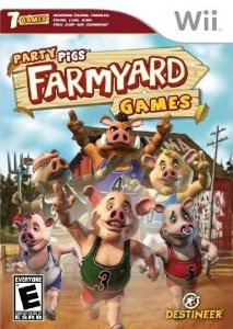 Jogo Party Pigs Farmyard Games [sem capa] - Nintendo Wii - Seminovo