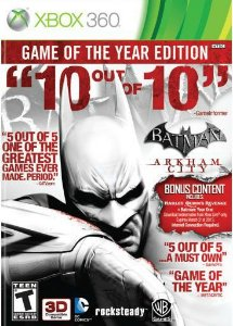 Jogo Batman Arkham City Game Of The Year Edition Seminovo