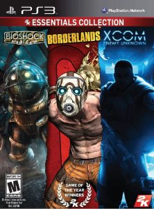 2K Essentials Collection Bioshock, Borderlands, Xcom - PS3 - Seminovo