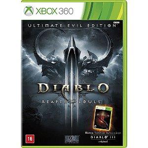 Jogo Diablo III Reaper of Souls - Xbox 360 - Seminovo