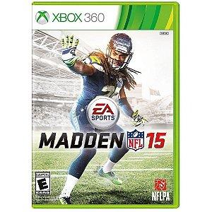 Jogo Madden NFL 15 Xbox 360 - Seminovo