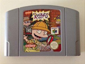 Jogo Rugrats [europeu] Nintendo 64 - Seminovo