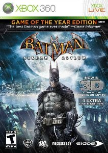 Jogo Batman Arkham Asylum Xbox 360 Seminovo