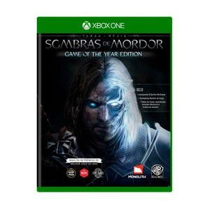 Usado: Jogo Terra Média Sombras de Mordor - Game of The Year Edition - Xbox One