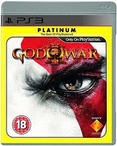 Jogo God of War 3 Platinum - PS3 - Seminovo