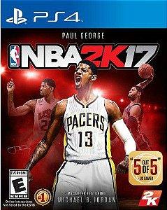 Jogo NBA 2K17 PS4 - Seminovo