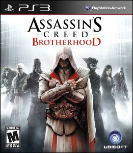 Jogo Assassins Creed Brotherhood - PS3 - Seminovo