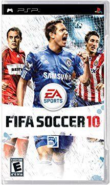 Jogo Fifa Soccer 10 - PSP - Seminovo