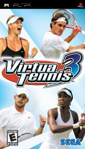 Jogo Virtua Tennis 3 - PSP - Seminovo