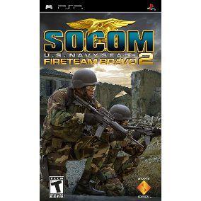Jogo Socom Fireteam Bravo 3 - PSP - Seminovo